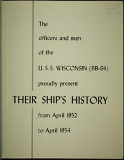 Page 5, 1954 Edition, Wisconsin (BB 64) - Naval Cruise Book online yearbook collection