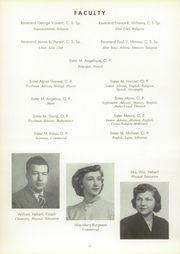 Page 16, 1951 Edition, St Joseph High School - Torch Yearbook (Bay City, MI) online yearbook collection