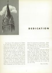 Page 6, 1951 Edition, St Joseph High School - Torch Yearbook (Bay City, MI) online yearbook collection