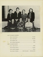 Page 11, 1949 Edition, New Troy High School - Trojans Yearbook (New Troy, MI) online yearbook collection