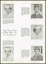 Page 17, 1955 Edition, Sweetest Heart of Mary High School - Marian Yearbook (Detroit, MI) online yearbook collection
