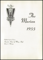 Page 5, 1955 Edition, Sweetest Heart of Mary High School - Marian Yearbook (Detroit, MI) online yearbook collection