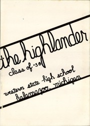 Page 7, 1938 Edition, Western State High School - Highlander Yearbook (Kalamazoo, MI) online yearbook collection