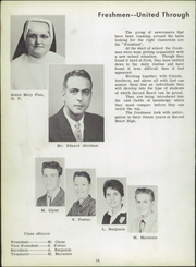 Page 16, 1958 Edition, Sacred Heart High School - Corier Yearbook (Flint, MI) online yearbook collection