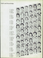 Page 17, 1958 Edition, Sacred Heart High School - Corier Yearbook (Flint, MI) online yearbook collection