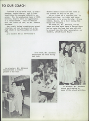 Page 7, 1958 Edition, Sacred Heart High School - Corier Yearbook (Flint, MI) online yearbook collection