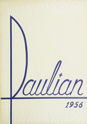 1956 Edition, St Paul High School - Paulian Yearbook (Owosso, MI)