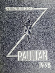 1958 Edition, St Paul High School - Paulian Yearbook (Owosso, MI)