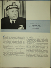 Page 13, 1950 Edition, Worcester (CL 144) - Naval Cruise Book online yearbook collection