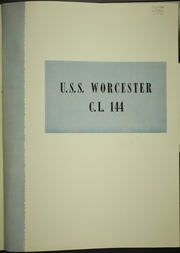 Page 5, 1950 Edition, Worcester (CL 144) - Naval Cruise Book online yearbook collection