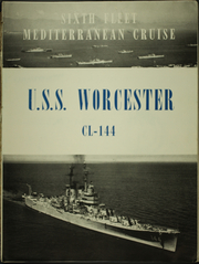 Page 7, 1950 Edition, Worcester (CL 144) - Naval Cruise Book online yearbook collection