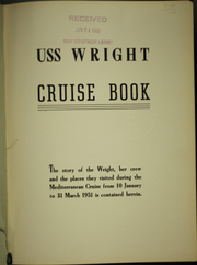 Page 5, 1951 Edition, Wright (CVL 49) - Naval Cruise Book online yearbook collection