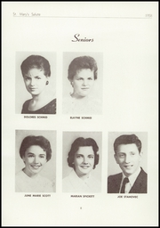 Page 10, 1958 Edition, St Marys High School - Salute Yearbook (New Baltimore, MI) online yearbook collection