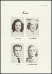 Page 11, 1958 Edition, St Marys High School - Salute Yearbook (New Baltimore, MI) online yearbook collection