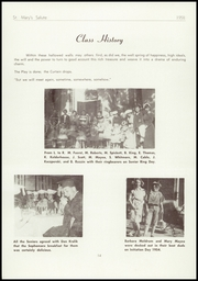 Page 16, 1958 Edition, St Marys High School - Salute Yearbook (New Baltimore, MI) online yearbook collection