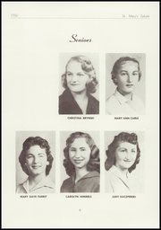 Page 7, 1958 Edition, St Marys High School - Salute Yearbook (New Baltimore, MI) online yearbook collection