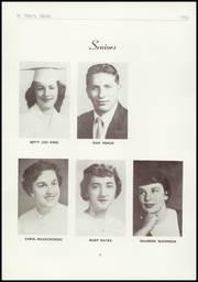 Page 8, 1958 Edition, St Marys High School - Salute Yearbook (New Baltimore, MI) online yearbook collection