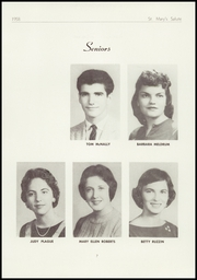 Page 9, 1958 Edition, St Marys High School - Salute Yearbook (New Baltimore, MI) online yearbook collection