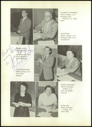 Page 12, 1958 Edition, Vermontville High School - Verhian Yearbook (Vermontville, MI) online yearbook collection