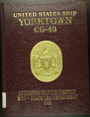 1991 Edition, Yorktown (CG 48) - Naval Cruise Book