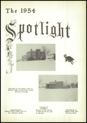 Page 5, 1954 Edition, Mecosta High School - Spotlight Yearbook (Mecosta, MI) online yearbook collection
