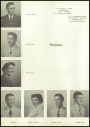 Page 12, 1955 Edition, Mecosta High School - Spotlight Yearbook (Mecosta, MI) online yearbook collection