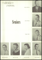 Page 13, 1955 Edition, Mecosta High School - Spotlight Yearbook (Mecosta, MI) online yearbook collection