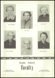 Page 9, 1955 Edition, Mecosta High School - Spotlight Yearbook (Mecosta, MI) online yearbook collection