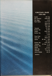 Page 5, 1960 Edition, Yorktown (CVS 10) - Naval Cruise Book online yearbook collection