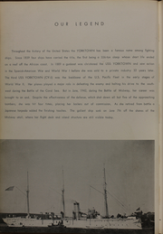Page 6, 1960 Edition, Yorktown (CVS 10) - Naval Cruise Book online yearbook collection