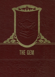 1950 Edition, Dimondale High School - Gem Yearbook (Dimondale, MI)