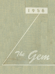 1956 Edition, Dimondale High School - Gem Yearbook (Dimondale, MI)