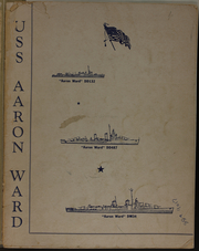 Page 3, 1945 Edition, Aaron Ward (DM 34) - Naval Cruise Book online yearbook collection