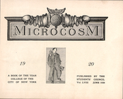Page 2, 1920 Edition, City College of New York - Microcosm Yearbook (New York City, NY) online yearbook collection