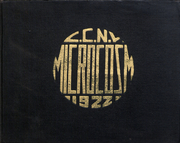 1922 Edition, City College of New York - Microcosm Yearbook (New York City, NY)