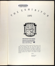 Page 5, 1970 Edition, State Fair Community College - Exhibitor Yearbook (Sedalia, MO) online yearbook collection