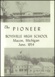 Page 3, 1954 Edition, Boysville High School - Pioneer Yearbook (Macon, MI) online yearbook collection