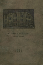 Page 1, 1921 Edition, St Joseph High School - Purple and Gold Yearbook (Escanaba, MI) online yearbook collection