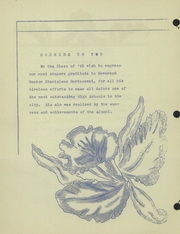 Page 10, 1945 Edition, All Saints High School - Wings Yearbook (Flint, MI) online yearbook collection
