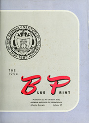 Page 7, 1954 Edition, Georgia Institute of Technology - Blueprint Yearbook (Atlanta, GA) online yearbook collection
