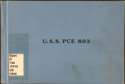 Page 1, 1944 Edition, PCE (893) - Naval Cruise Book online yearbook collection