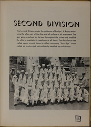 Page 17, 1953 Edition, Picking (DD 685) - Naval Cruise Book online yearbook collection