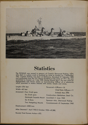 Page 6, 1953 Edition, Picking (DD 685) - Naval Cruise Book online yearbook collection