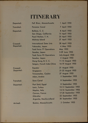 Page 7, 1953 Edition, Picking (DD 685) - Naval Cruise Book online yearbook collection