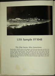 Page 10, 1978 Edition, Sample (FF 1048) - Naval Cruise Book online yearbook collection