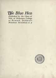 Page 11, 1917 Edition, University of Delaware - Blue Hen Yearbook (Newark, DE) online yearbook collection