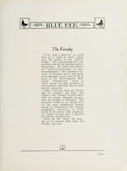 Page 15, 1922 Edition, University of Delaware - Blue Hen Yearbook (Newark, DE) online yearbook collection