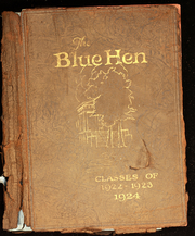 1923 Edition, University of Delaware - Blue Hen Yearbook (Newark, DE)