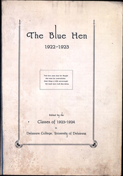 Page 9, 1923 Edition, University of Delaware - Blue Hen Yearbook (Newark, DE) online yearbook collection