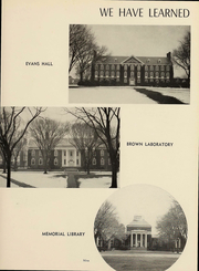 Page 10, 1953 Edition, University of Delaware - Blue Hen Yearbook (Newark, DE) online yearbook collection